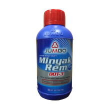 JUMBO DOT 3 Brake Fluid Merah - Minyak Rem [300 mL]