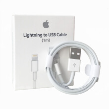 iPhone X  Apple original data cable White