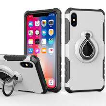 VOUNI iphone X case Phone case with ring buckle bracket drop protection sleeve tide