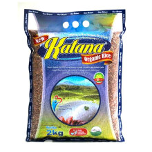 KATANA ORGANIC RICE White+Red Rice 2kg