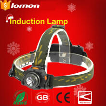 Lomon Induction Telescopic LED Headlamp Super Bright LED Headlight 18650 Rechargeable Battery + Charger Head Lamp Bicycle Head Torch