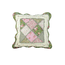 VINTAGE STORY SHABBY CUSHION COVER  45X45 PATCHWORK 3