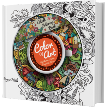 Adult Coloring Book : Color Of Art - Ranggi Ariliah 9786027292888