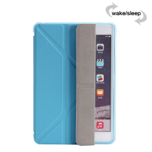 Keymao Apple iPad air 1 Smart Tpu Case PU Leather Flip Stand Magnetic Wake Up Sleep