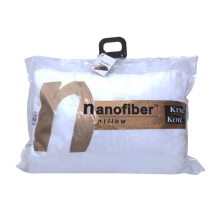 KING KOIL Accessories Nano Fiber King Pillow feel - White/57X87+5