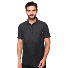 GREENLIGHT Washed Short Shirt - Black