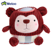 METOO Home Bedside Plush Pat Nightlight for Children(Red Monkey)