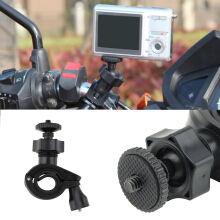 Bike Bicycle Motorcycle Handlebar Tripod Mount Holder Stand For Camera Camcorder