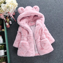 BESSKY Baby Infant Girls Autumn Winter Hooded Coat Cloak Jacket Thick Warm Clothes_