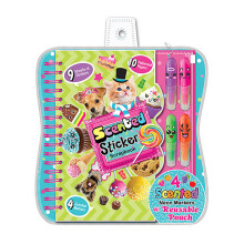 HOT FOCUS Scented Sticker Scrapbook  225SC
