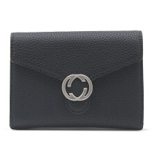 HUER Cecio Small Flap Wallet - Black [One Size]