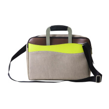 NUDESIGN Laptop Brief Bag ALT-02B - Green / 33x9.5x42cm
