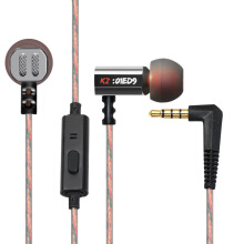 KZ-ED9 In-ear 3.5mm Super Bass Earphones HiFi Sound with Mic Support Hands-free Talking
