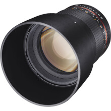 Samyang 85mm f/1.4 Aspherical IF Lens for Fujifilm X-Mount Black
