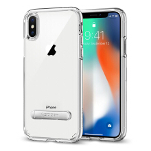SPIGEN Ultra Hybrid S Case for iPhone X - Crystal Clear