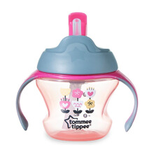TOMMEE TIPPEE 1st Straw Cup - Pink