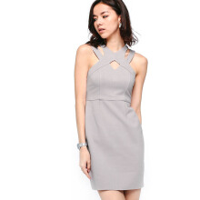 LOVE, BONITO HY3274 Dress - Grey