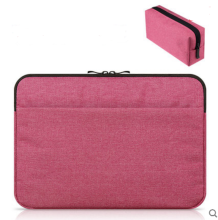 JDS S-10507 handbag(with one more battery bag) for laptop macbook ipad 11inch red color