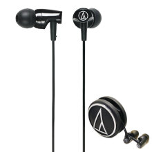 Audio Technica ATH-CLR100 Earphone - Black
