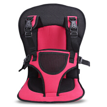 Breathable Pushchair Car Seat Babies Stroller Thick Cushion-Red