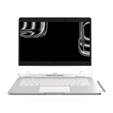 PORSCHE DESIGN Book One 13.3 inch/Core i7-7500U/16GB/512GB SSD/Integrated HD Graphics/Win10 Pro - Silver