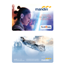 MANDIRI E-Money Star Wars: The Last Jedi - Rey