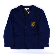 KIDDIEWEAR Boy Blazer Navy with Gold Embroidery  1GJ7305
