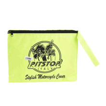 PITSTOP Stylish Motorcycle Cover - Green