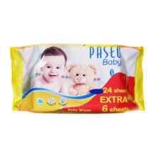 PASEO Baby Tissue Wipes Gazette 24's