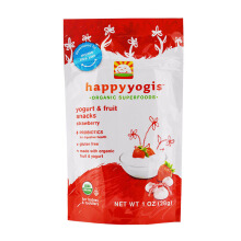 HAPPYYOGIS Yogurt Strawberry Pack - 28gr