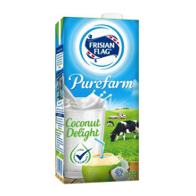 FRISIAN FLAG UHT Purefarm Coconut Delight 900ml