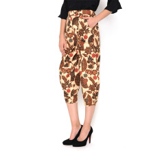 FBW Ballina Balloon Batik Pants Kipas - Putih [All Size]