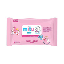 MITU Baby Travel Pack 10s - Pink