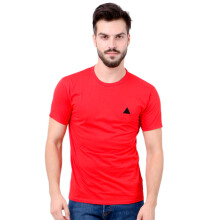 MONSTURO Red Tshirt for Men + Patch