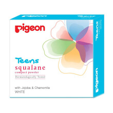 PIGEON TEENS Compact Powder Squalene White 20g