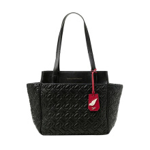 Diane Von Furstenberg On The Go Chainlink Quilted Leather - Black [H2237082G13]