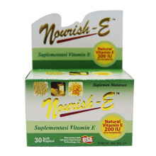 NOURISH-E 200 IU Box (30 Tablets)