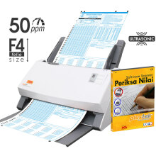 PLUSTEK Scanner SmartOffice PS506U + Software Periksa Nilai