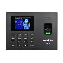 Solution X105 Mesin Absensi Fingerprint dan Akses Pintu - Black