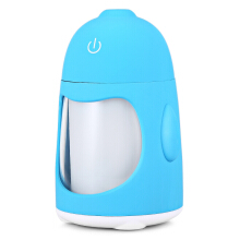 Mini USB Air Atomizing Humidifier with Night Light