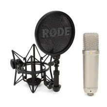 Rode NT1-A 1 Cardioid Condenser Microphone Black