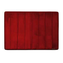 Microdry Memory Foam Bath Mat 43 X 61 cm - Red  (Small) By Terry Palmer
