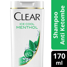CLEAR Shampoo Ice Cool Menthol 170ml