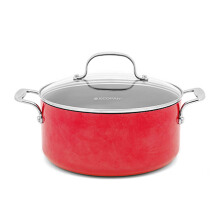 ECOPAN Colour Dutch Oven 5qt/24cm - Red