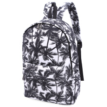 Girl Graffiti Print Canvas Travel Shopping Portable Bag Handbag Tote School Backpack