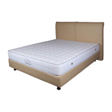 THE LUXE Mattress Reveire Titanium Complete Set - Irish White/100x200