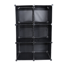 Assembled Multi-use 8 Cube Bookcase