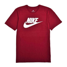 NIKE As M Nsw Tee Icon Futura - Team Red/White