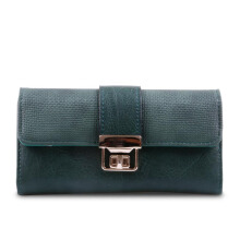 HUER Ginka Flap Wallet - Green [One Size]