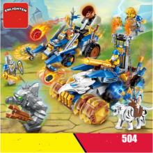ENLIGHTEN D906 Toy  Compatible with LEGO blocks for 6 years old kid 504pcs blocks